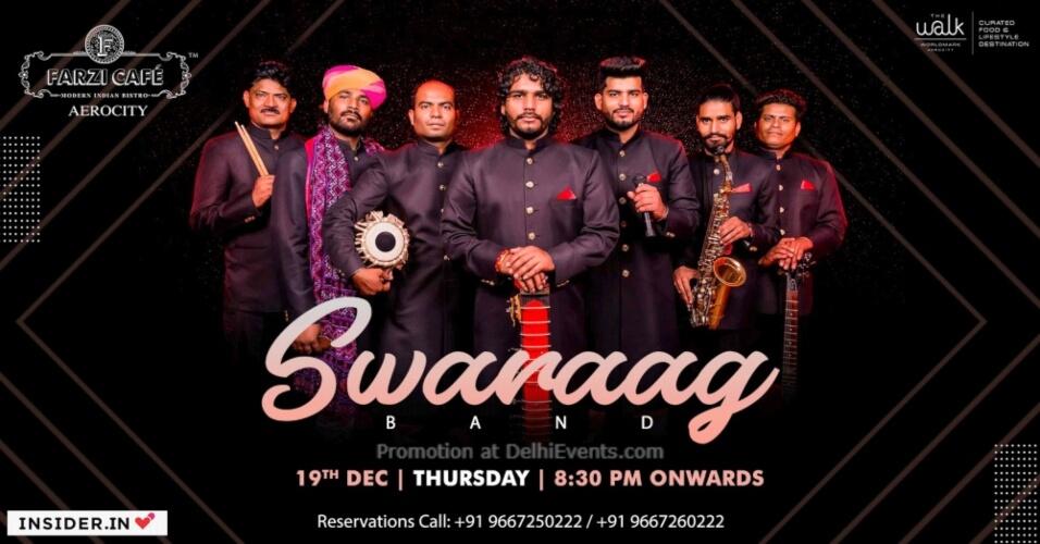 Swaraag Band Farzi Cafe Aerocity Creative