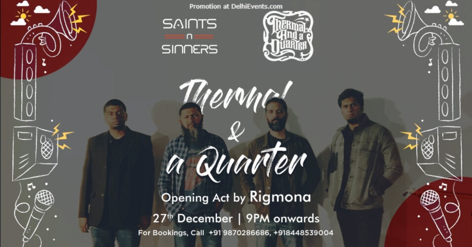 Thermal Quarter Saints N Sinners Gurugram Creative
