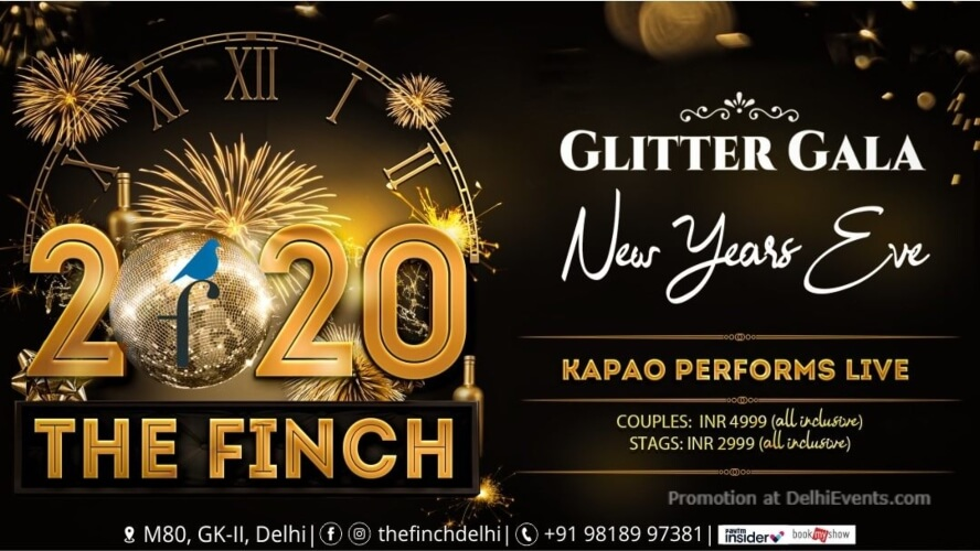New Year Glitter Gala Bubbles Future Fete Finch Greater Kailash Creative