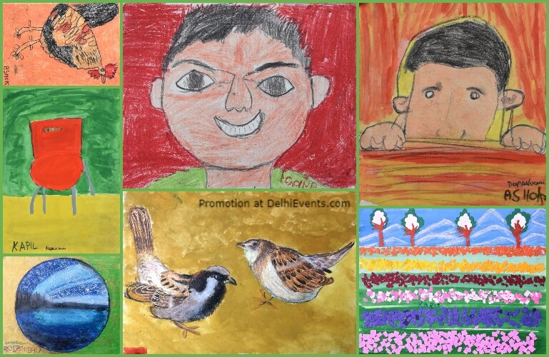 My Dreams World Group Show Specially Abled Children Deepashram Academy Fine Arts Literature Artworks