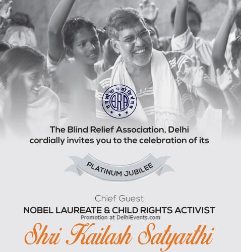 Platinum Jubilee Function Blind Relief Association Lodhi Road Creative