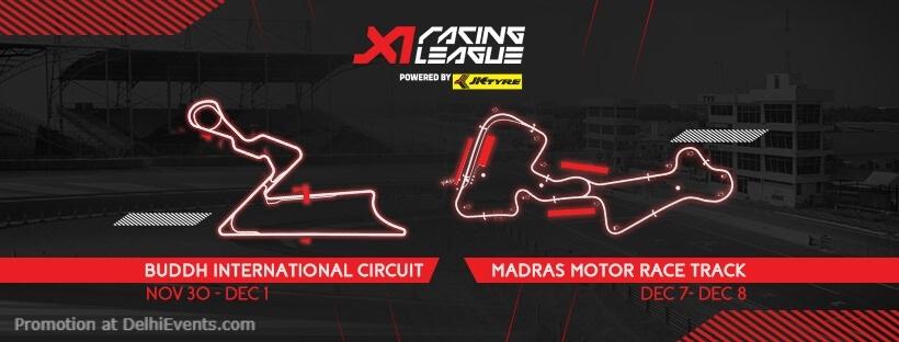 X1Racing League Buddh International Circuit Greater Noida Creative