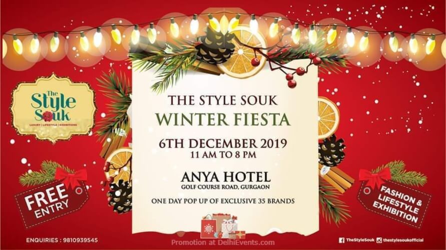 Style Souk Winter Fiesta Fashion Lifestyle Pop Up Anya Gurgaon Creative