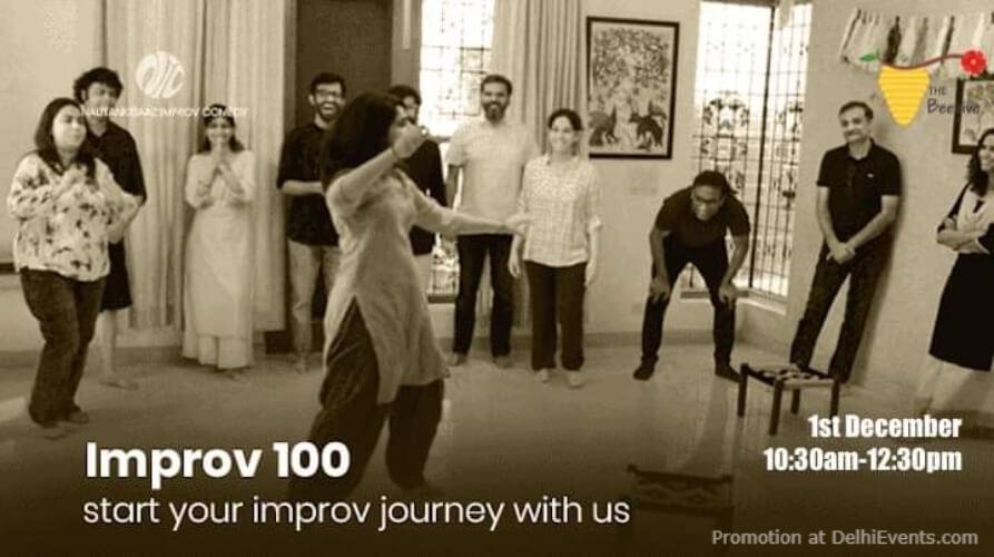Improv Comedy Beginners Workshop Beehive Gurugram Creative