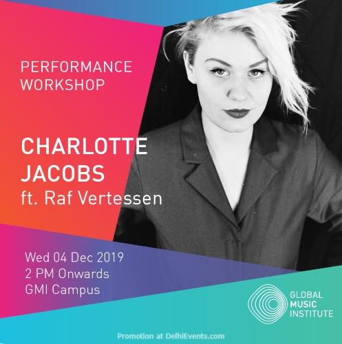 Performance Workshop Charlotte Jacobs Raf Vertessen Global Music Institute Greater Noida Creative