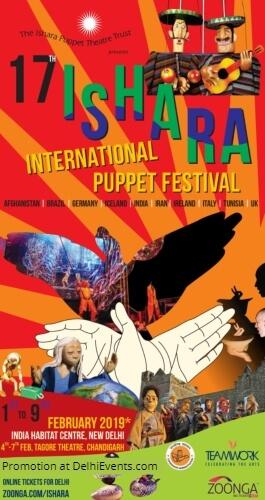 17th Edition Ishara International Puppet Theatre Festival Creative