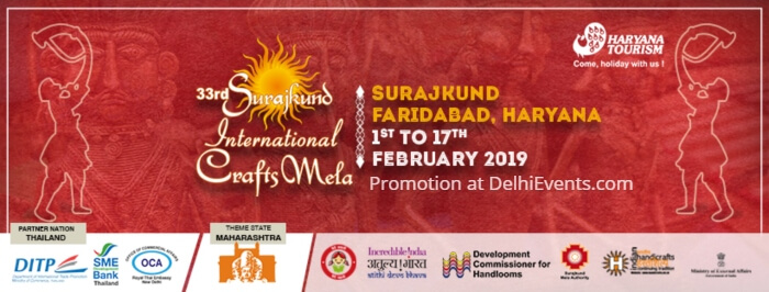 33rd Surajkund International crafts Mela 2019 Creative