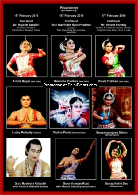 8th edition Guru Shishya Parampara Dance Festival Mayadhar Raut School Dancers Creative