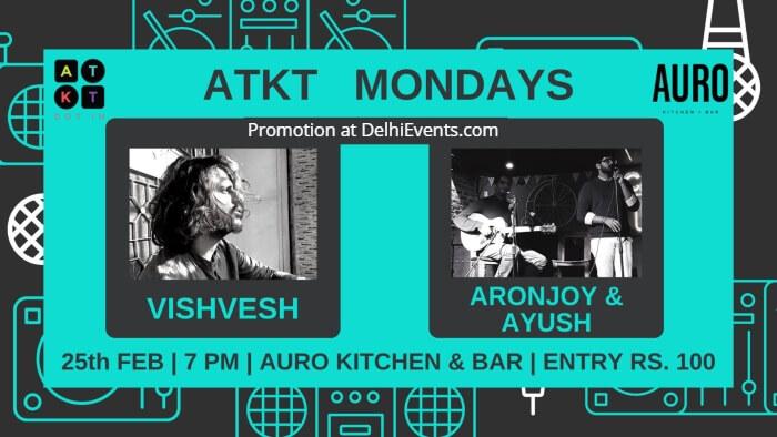 ATKT Mondays Auro Kitchen Bar Creative