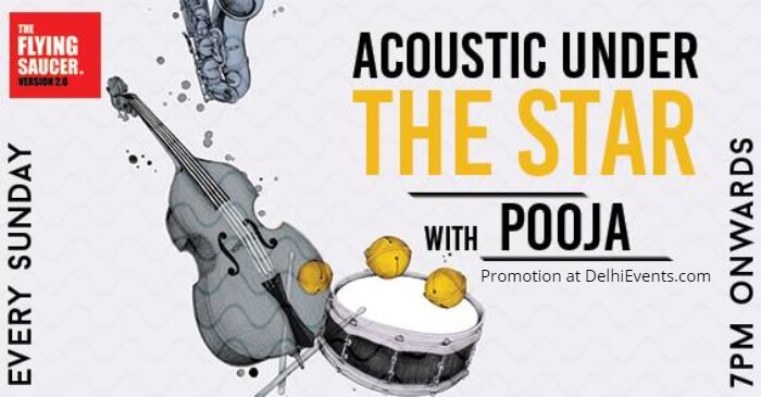 Acoustic Session Pooja Flying Saucer Creative