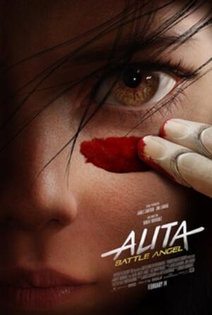 Alita Battle Angel Movie Poster