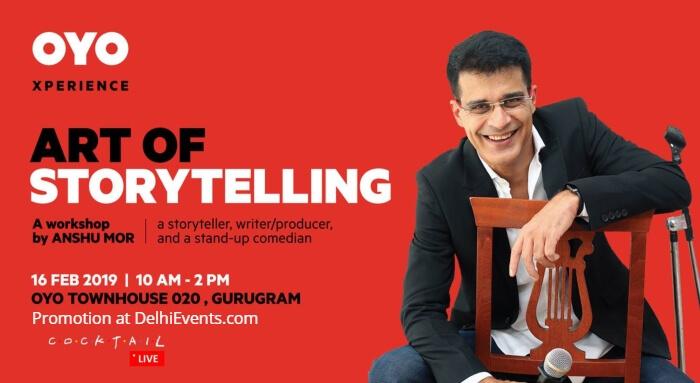 Art Storytelling Anshu Mor OYO Townhouse 020 Workshop Creative