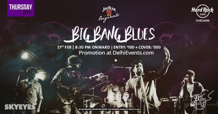 Big Bang Blues SkyEyes Hard Rock Cafe Creative