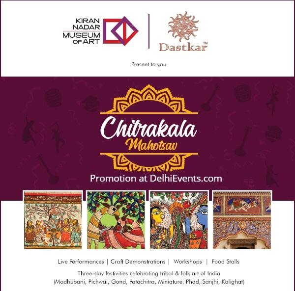 Chitrakala Mahotsav Folk Art Painting Festival KNMA Creative