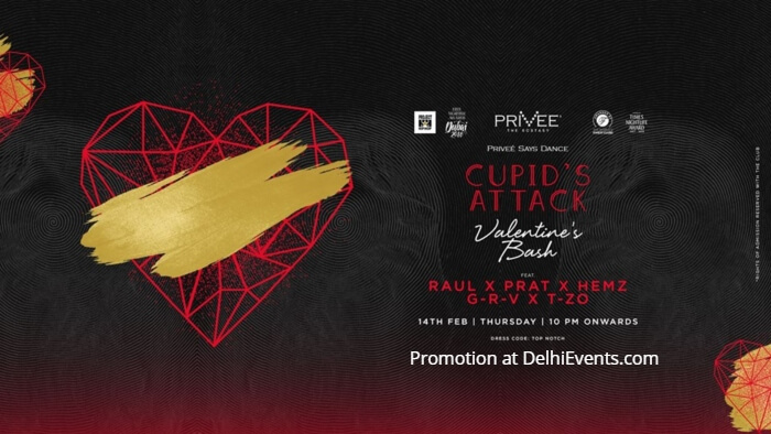 Cupid Attack Valentine Bash Privee Creative