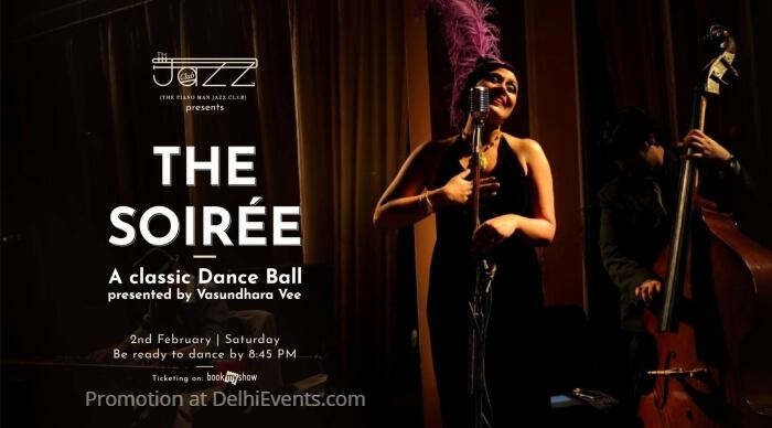 Soiree Classic Dance Ball Vasundhara Vee Piano Man Jazz Club Creative