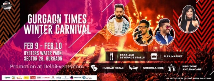 Gurgaon Times Winter Carnival 2019 Creative