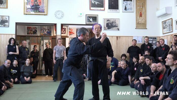 Living Ninja Legend Masaaki Hatsumi Film Still