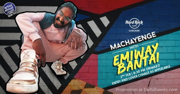 Machayenge Emiway Bantai Hard Rock Cafe Creative