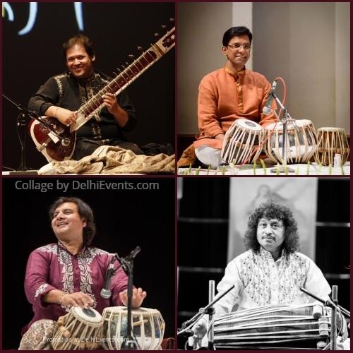 Musicians Pt. Prateek Chaudhuri Durjay Bhaumik Ustad Akram Khan Ravishankar Upadhyay