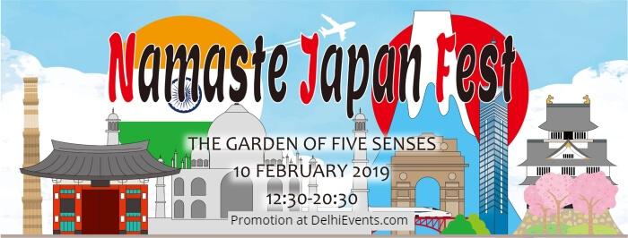 Namaste Japan Fest Garden Five Sense Creative