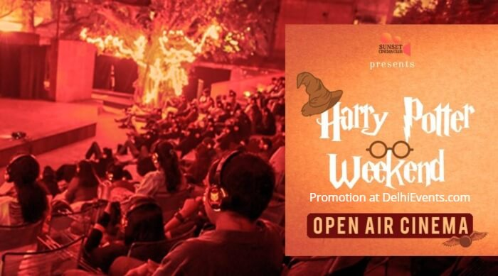 Open Air Cinema Harry Potter Weekend Akshara Theatre Creative