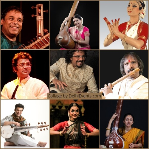 Annual Fest Ravi Shankar Centre Musicians Dancers