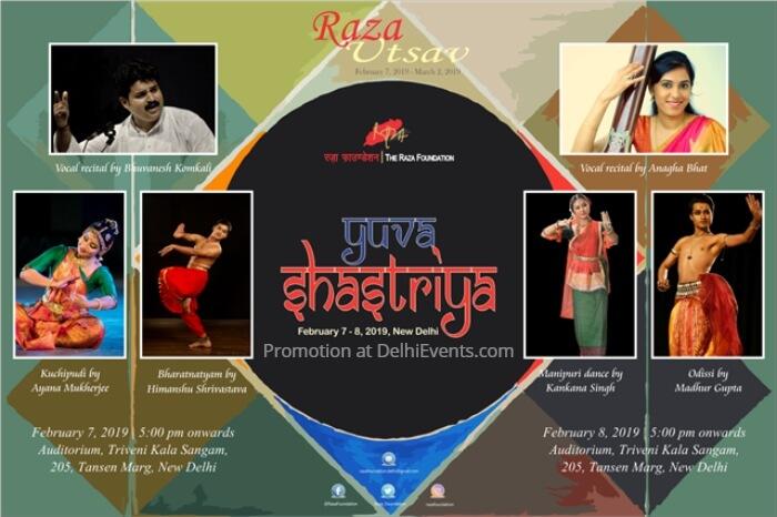 Raza Foundation Yuva Shastriya Music Dance Fest Triveni Kala Sangam Creative
