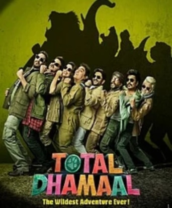 Total Dhamaal Comedy Film Poster