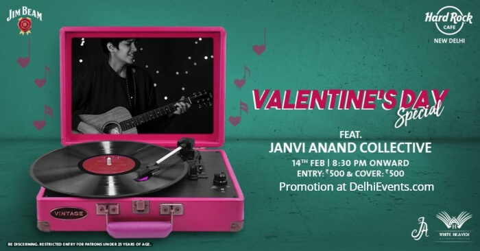 Valentines Day Special Janvi Anand Collective Hard Rock Cafe Creative