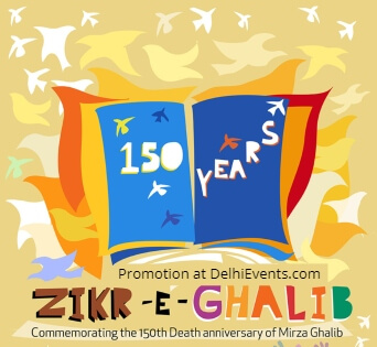 Zikr Ghalib Jawahar Bhawan Creative