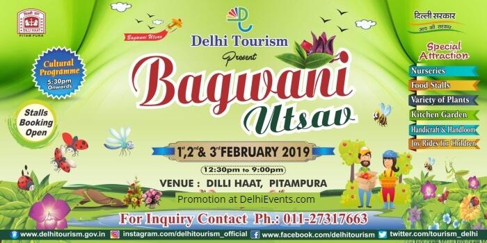 Bagwani Utsav Dilli Haat Pitampura Creative