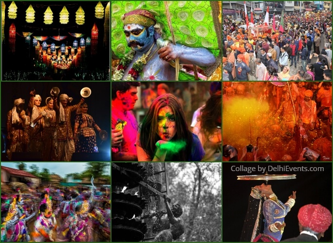 Bharat Ke Rang Festivals India Exhibition Photographs