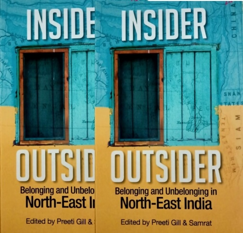 Insider Outsider Belonging Unbelonging North East India Book Cover