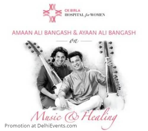 Music Healing Amaan Ali Bangash Ayaan Ali Bangash CK Birla Hospital Women Creative