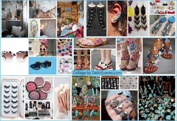 Boho Bazaar Epic Flea Market Collage