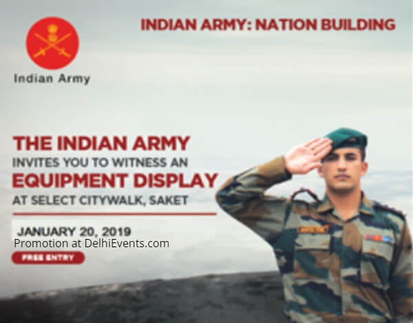 Indian Army Military Weapons Equipment Select Citywalk Creative