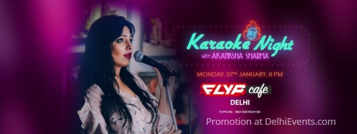Karaoke Night Akanksha Sharma Flyp Cafe Creative