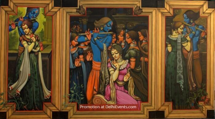 Paintings Kishore Roy
