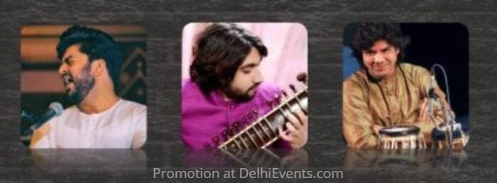 Musicians Suhail Yusuf Khan Sarangi Adnan Khan Sitar Zuheb Ahmed Khan Tabla