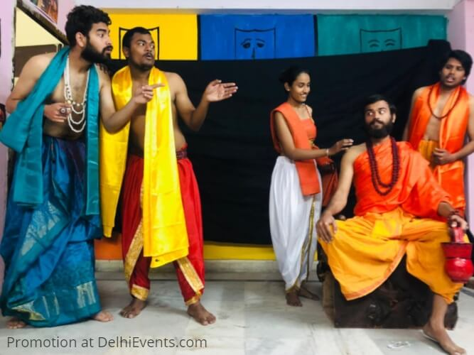 Taabir Theatre Group Hasya Chudamani Hindi Comedy Play Still