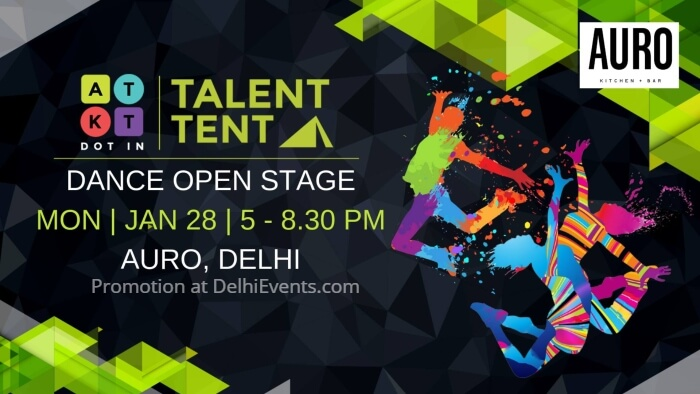 Talent Tent Dance Open Stage Auro Kitchen Bar Creative