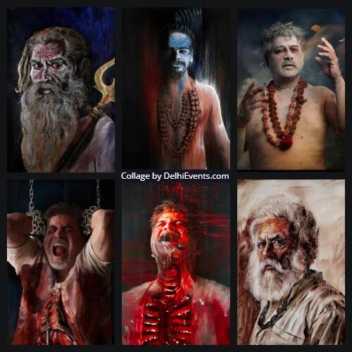 Artworks Yoga Guru Bharat Thakur
