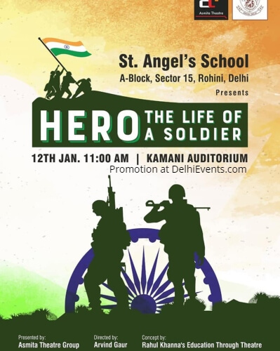 St. Angel School Hero Life Soldier Play Kamani Creative
