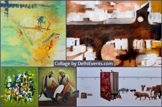 Felicia group art show Exhibition Artworks