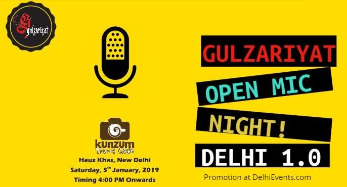 Gulzariyat Open Mic Night Kunzum Creative