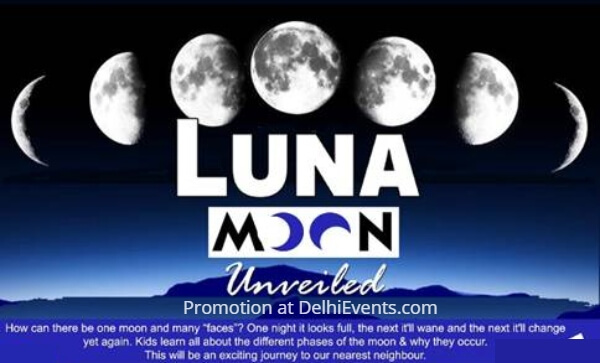 Hands On Luna Moon Unveiled Kids Workshop Creative
