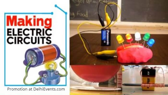 Hands On Making Electric Circuits Kids Workshop Creative