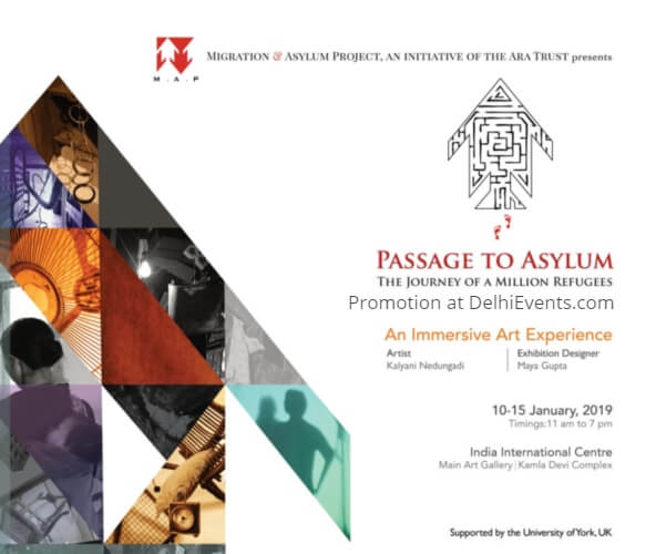 Passage Asylum Journey Million Refugees Exhibition IIC Creative