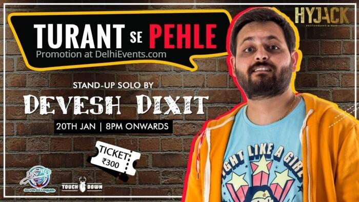 Turant se Pehle Hinglish standup Devesh Dixit Hyjack Creative